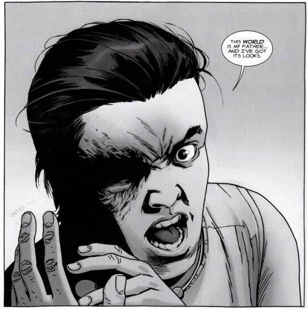 Carl est pas content : il vient de se faire voler la vedette par son papa !