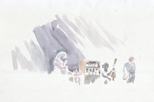 Le Pat Metheny Group en concert et en aquarelle