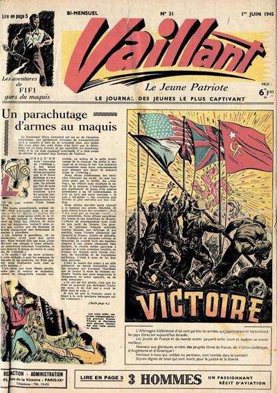 Vaillant le jeune patriote, la résistance expliquée aux plus jeunes