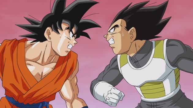 Les enfantillages continuent entre Vegeta et Goku au plus grand plaisir du fan quitte à en oublier le scénario...