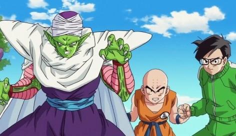 Piccolo, Krillin et Gohan servent l apéro comme habitude....