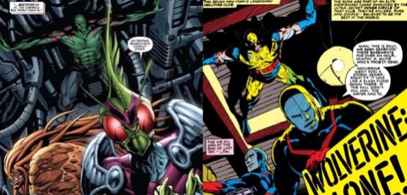 Drax se prend pour Wolverine