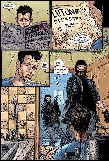 Des terroristes dans mes toilettes