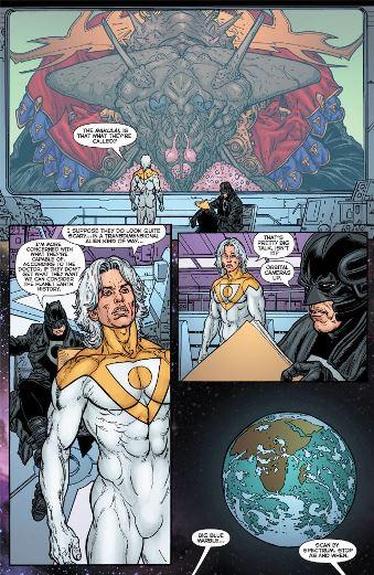 Des problèmes de superhéros (une invasion extraterrestre)