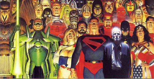 Superman rassemble autour de lui une légion de super-héros