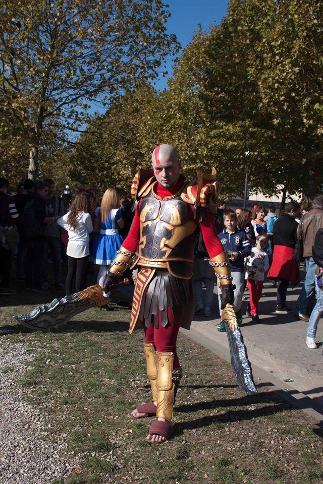 Pour toi Bruce ! Kratos, le dieu de la guerre !