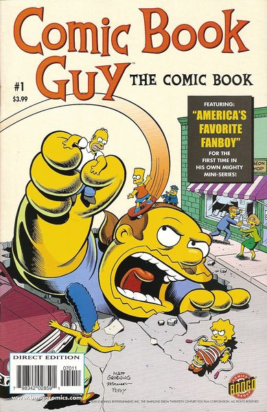 Une référence à un obscur comic-book des années 60…