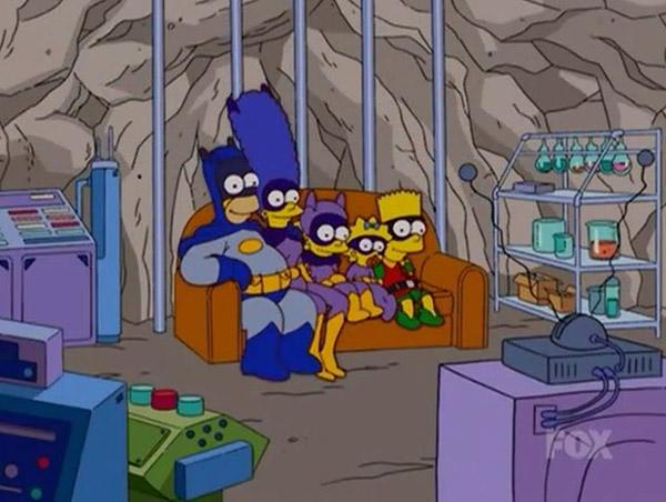 Les Simpson et les comics: deux univers pas si éloignés que ça…