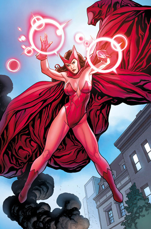 Scarlet Witch en action