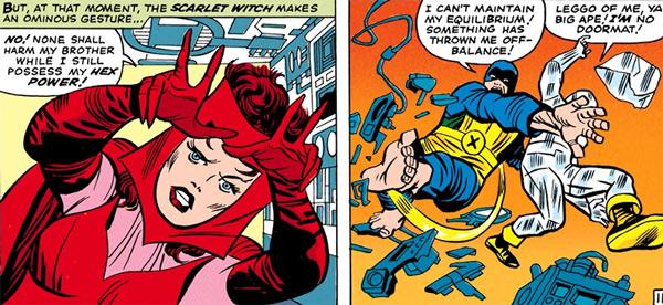 Quand Wanda pointe le doigt, casse-toi!