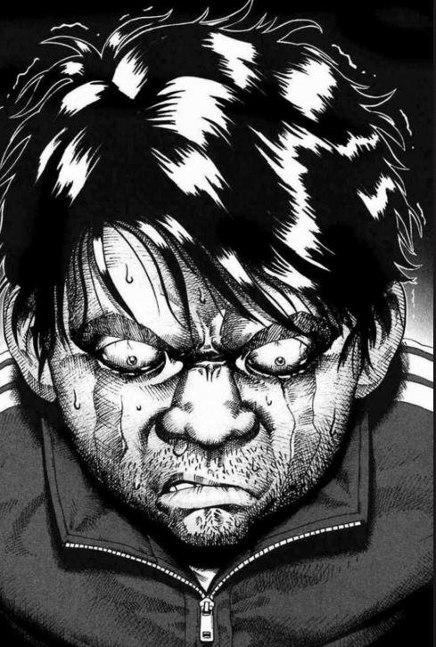 Avant l'ikikigami, cet homme était plutôt souriant...