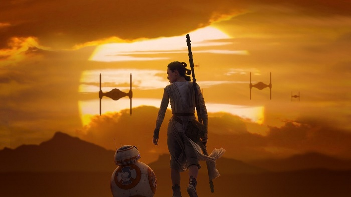 Rey, une héroïne tournée vers la lumière...