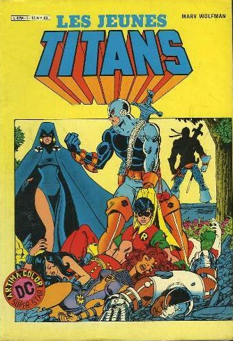 Le premier numéro de New Teen Titans version Artima