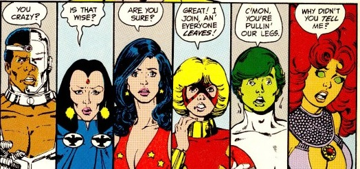 Les jeunes Titans personne n'y croit, même pas eux même!