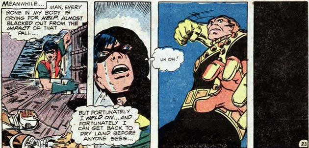 Une grande spécialité des Jeunes Titans: se faire maraver!