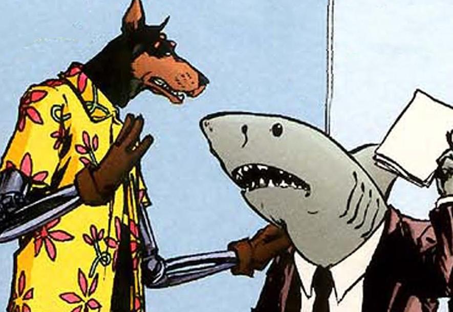 Un requin avocat qui travaille pour Spielberg !