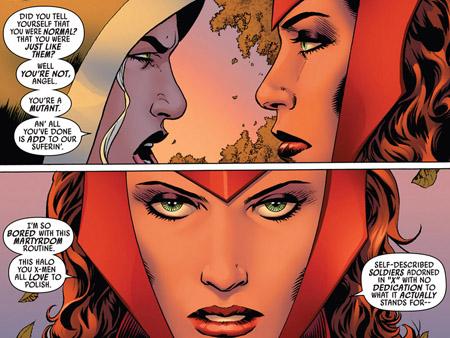 Wanda et Rogue: deux destins contrariés