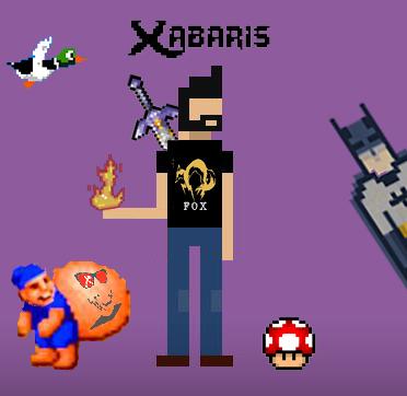 Sans doute le seul vrai geek de l'équipe, Xabaris est capable d'aller jusqu'en Italie pour voir du Cosplay et au Japon pour assouvir sa passion des Chevaliers du Zodiaque ! Détenteur de toutes les cosoles de jeux depuis la 8 bits, il a reussi à caser le premier article de Jeu Vidéo chez Bruce Lit !