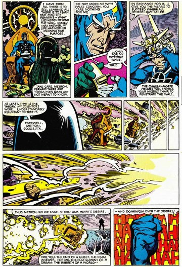 Metron et Darkseid, l'héritage de Jack Kirby