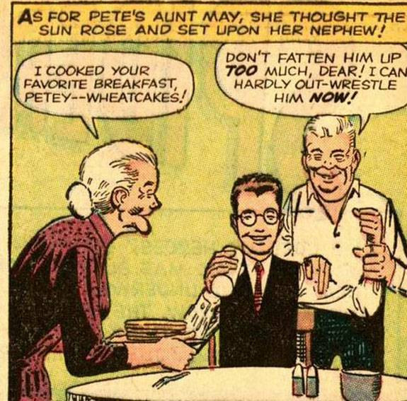 Aunt May S Wheat Cakes