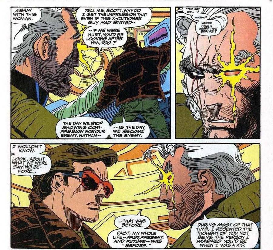 Cable apprend la compassion. Euh... la quoi ?
