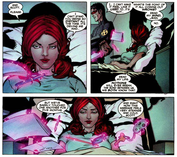 Le crime de Morrison : la dissolution du couple mythique Jean Grey-Scott Summers
