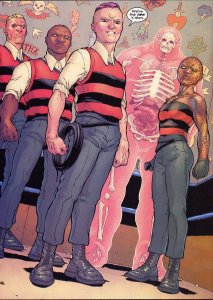 Ultra-violence  et délinquance : Orange Mécanique chez les X-Men, un chef d'oeuvre signé Morrison