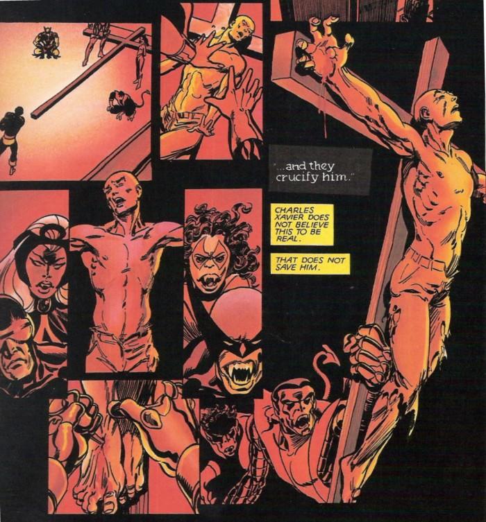 Avant de devenir un vra connard, Charles Xavier était clairement le Messie de la série, celui qui malgré des pouvoirs illimités refusait de nuire à ses ennemis