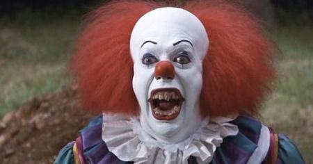 Grippe-sou, l'éternel clown qui fait peur!