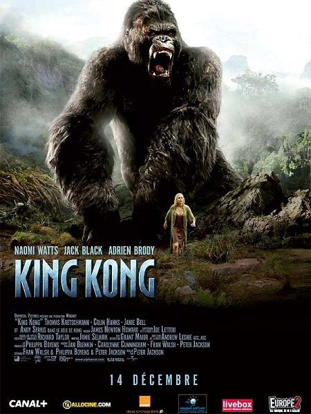 Le roi Kong: Sauvage et beau!