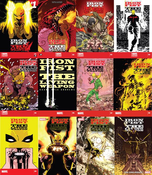 12 épisodes formant un (maxi) «Récit Complet Marvel»