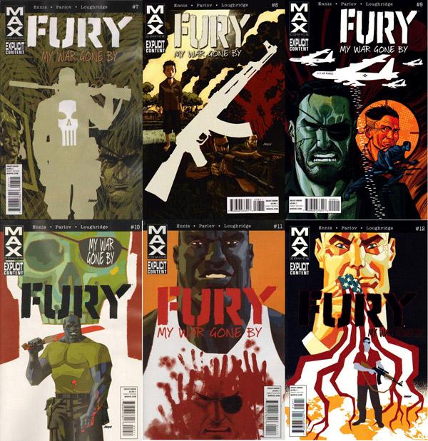 Franck Castle, Barracuda : Nick Fury se fait de chouettes amis pendant ses voyages…