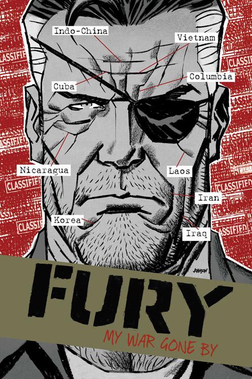 Nick Fury parcourt le globe en voyage organisé par la CIA