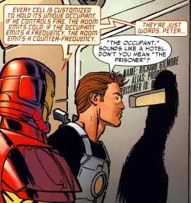 La négative zone durant Civil War. Iron Man ouvre un Guatanamo en toute impunité chez Marvel et na jamais été jugé depuis...