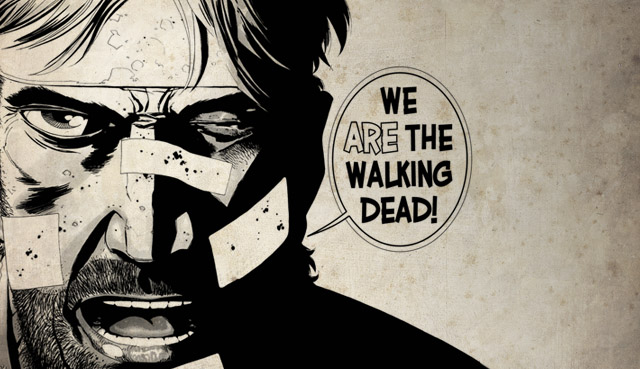 S'adapter ou mourir ? Le désespoir rationnel de Rick Grimes va contaminer le déjà pas jovial Scott Summers...