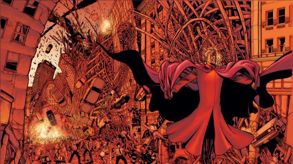Planet X : Une histoire post Al-Kaida où Morrison conclue un run brillant et brouillon. Ici Magnéto, tue des millions d'innocents. Les Avengers eux font la grasse mat'....