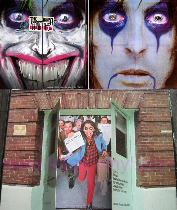 De la folie d'Alice à celle du Joker, il n'y a qu'un pas....