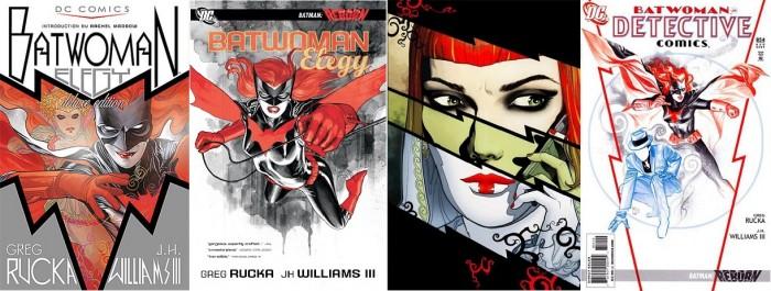 Des couvertures conceptuelles dans la série Detective Comics