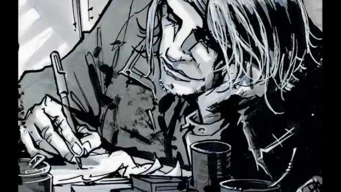 De temps à autre, Kurt lâchait la seringue quand même....