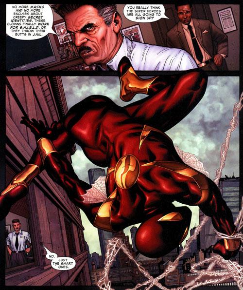 Franchement, après s'être fait offrir un costume aussi moche par Stark, Spidey aurait dû se douter qu'on lui voulait du mal…