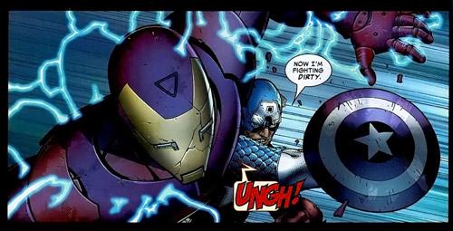 Steve qui triche face à Tony : Cap ou pas Cap ?