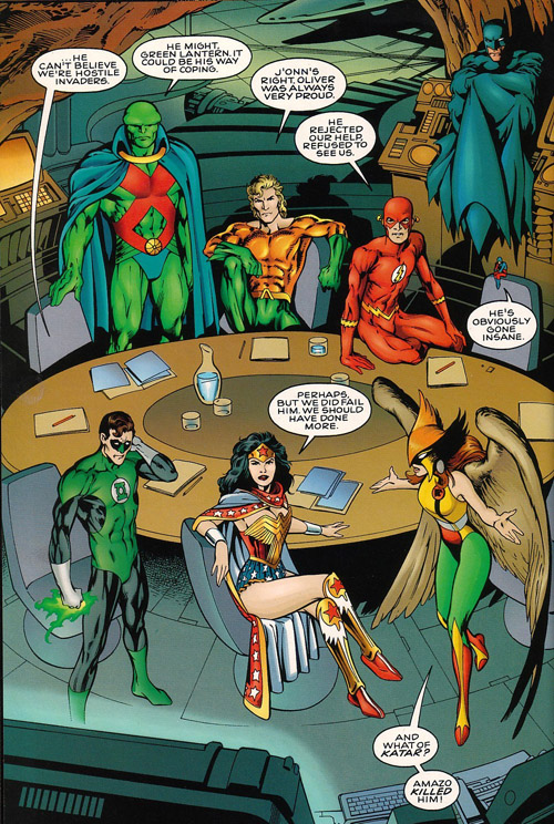 Il est toujours pas là, Superman?