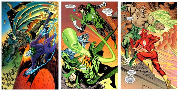De Batman à Flash: tout le monde a droit à sa splash!
