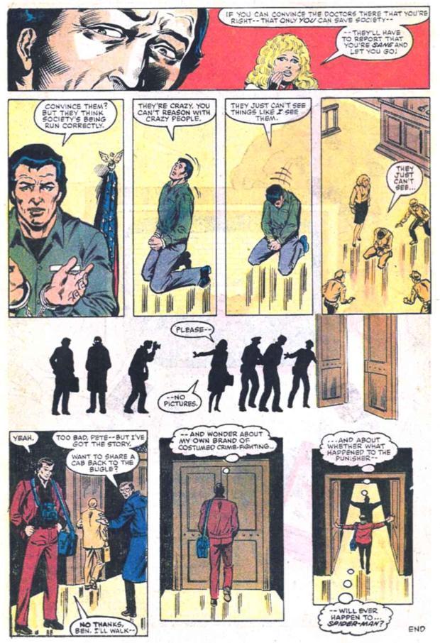 Le procès de Punisher : une occasion manquée d'avoir Matt Murdock en tant qu'avocat....