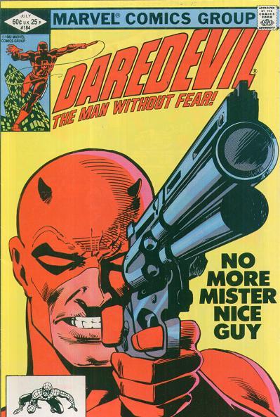 Daredevil, fan d'Alice Cooper tire sur le Punisher...