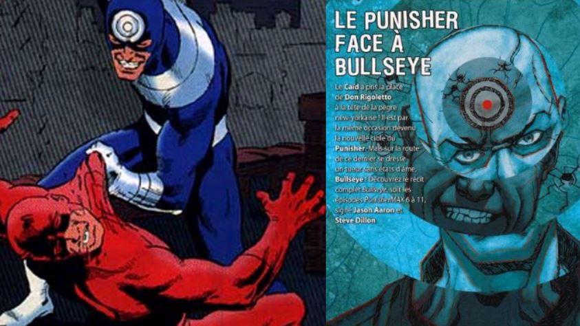 Dans un cas comme dans l'autre, affronter Bullseye confronte nos héros à leurs propres démons