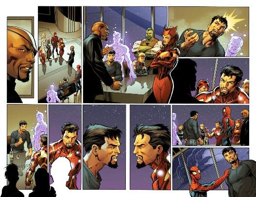 2 grandes gueules : Tony Stark 616 & Tony Stark 1610