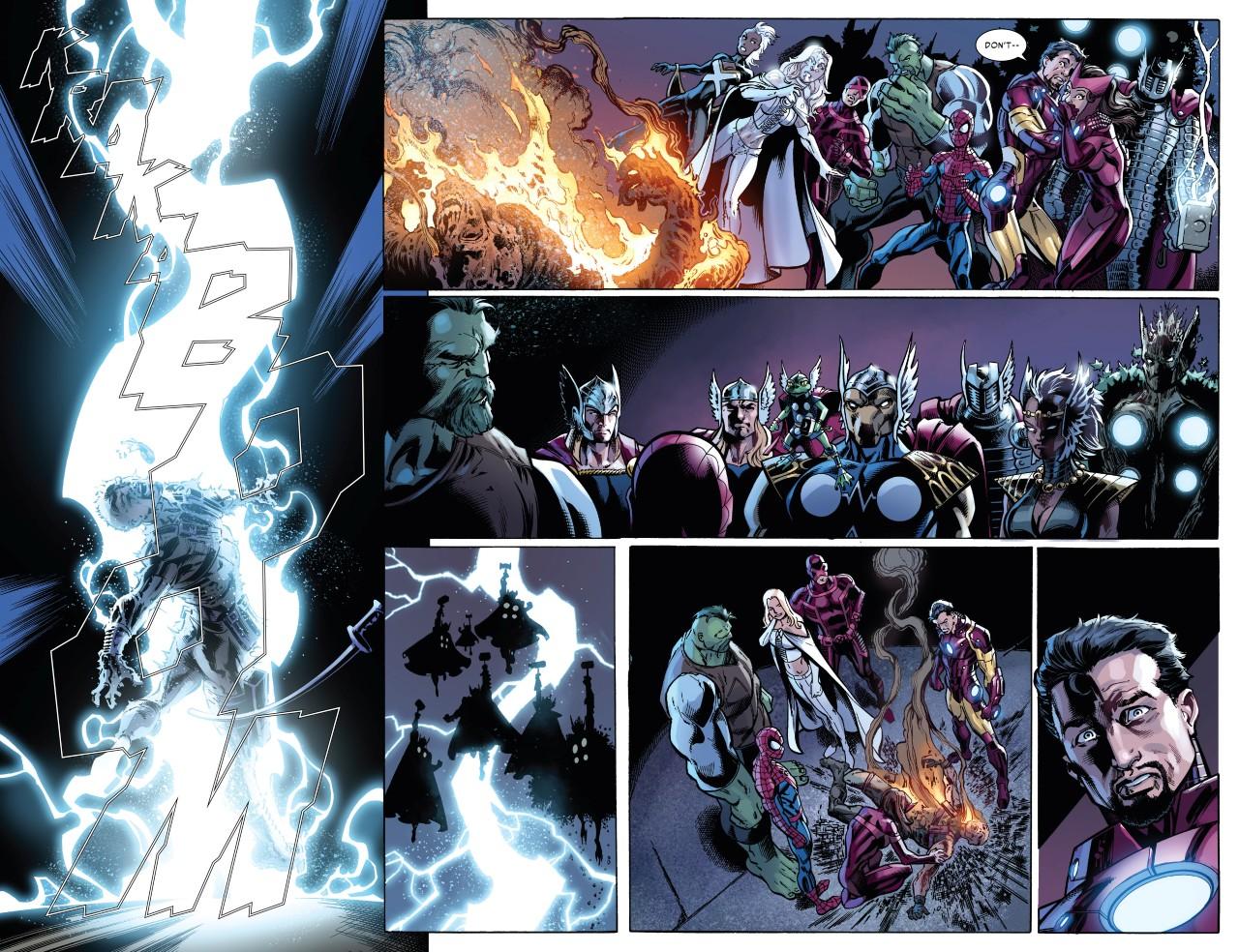 La brigade des Thor ne plaisante pas avec les rebelles