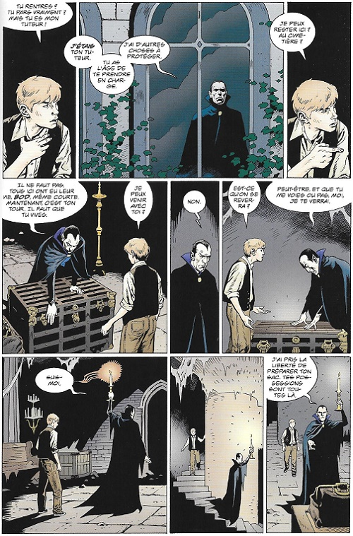 Et enfin, Bod peut-il renoncer à Silas, son tuteur et très puissant protecteur?