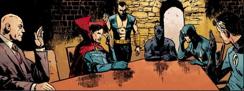 Les intellos de chez Marvel, entre réalisme et imagerie old-school…